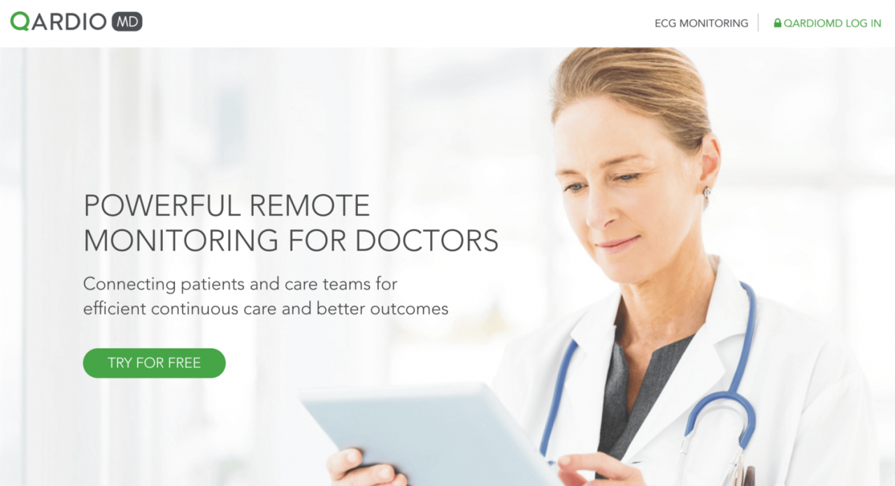 Qardio Launches New Service for Doctors to Better Remotely Monitor Patients